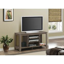 Monarch Specialties Tv Stand - 48 Inch L / Dark Taupe