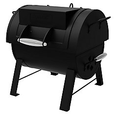 Portable Tabletop Charcoal BBQ & Side Firebox