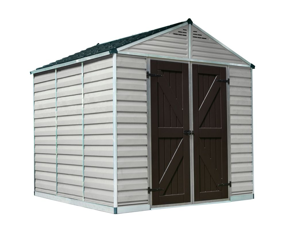 plastic x in browns shed p vertical large sheds suncast ft tans storage
