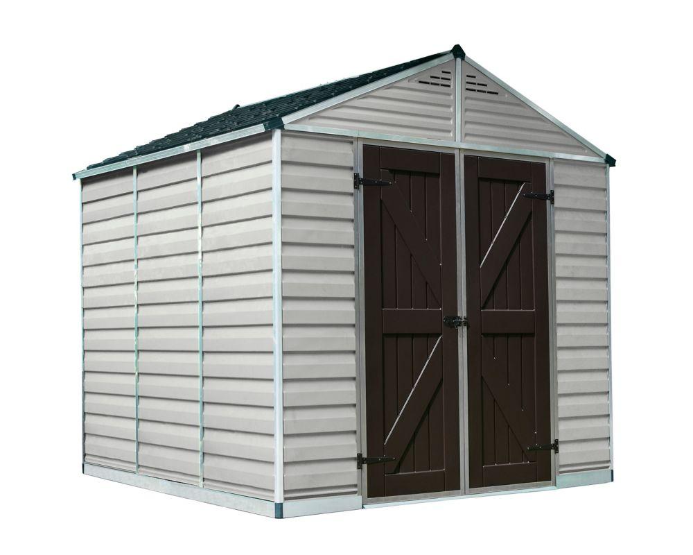 8 ft. x 8 ft. SkyLight Storage Shed