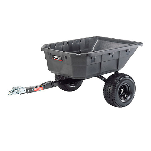 12.5 cu. ft. Poly Swivel ATV Cart, 1250 lb. capacity