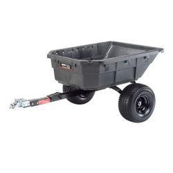 Ohio Steel 12.5 pi³ poly pivotant chariot ATV, 1250 lb. capacité