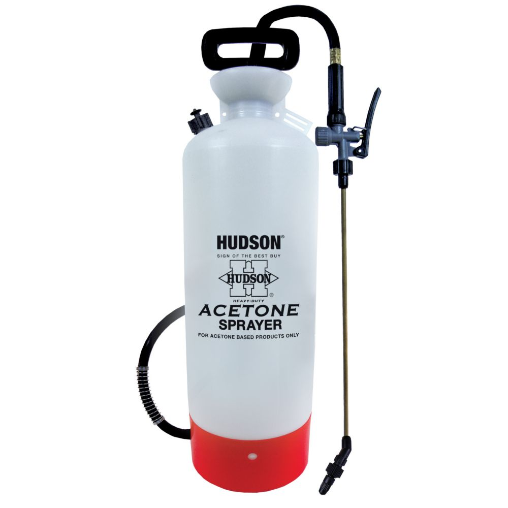 H.D. Hudson Acetone Compression Sprayer - 2.5 gallon / 9 litre