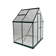 Mythos 6 ft. x 4 ft. Greenhouse in Green