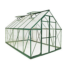 Balance 8 ft. x 16 ft. Greenhouse in Green