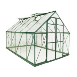 Palram Balance 8 ft. x 16 ft. Greenhouse in Green