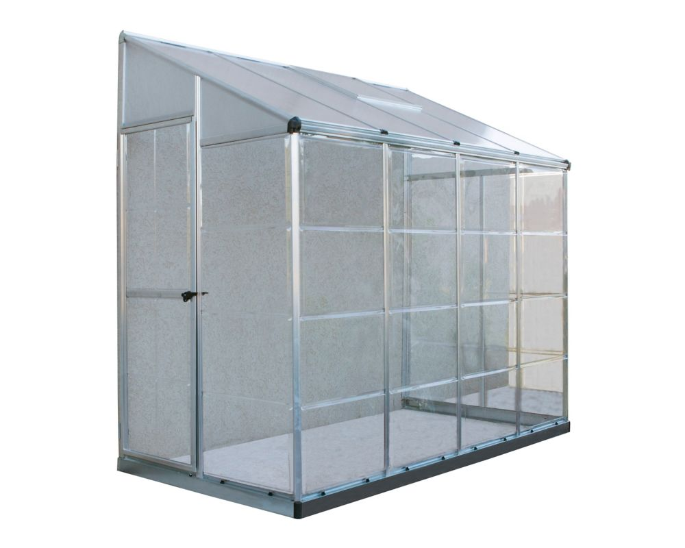 Lean-To Grow House - 8 feet x 4 feet