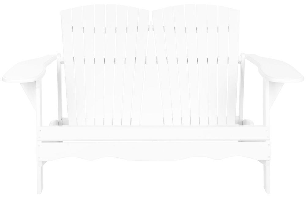 Safavieh Hantom Muskoka Bench in White