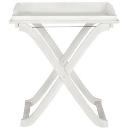 Safavieh Covina Tray Table in Antique White
