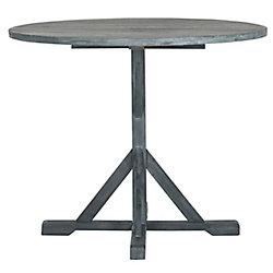 Safavieh Arcata Round Patio Table in Ashe Grey