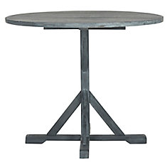Arcata Round Patio Table in Ashe Grey