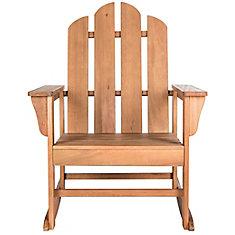 Moreno Rocking Chair in Teak Brown