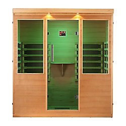 Canadian Spa Company Whistler Sauna IRL à 4 Personnes