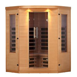 Canadian Spa Company Aspen 4 Person Far Infrared Corner Sauna
