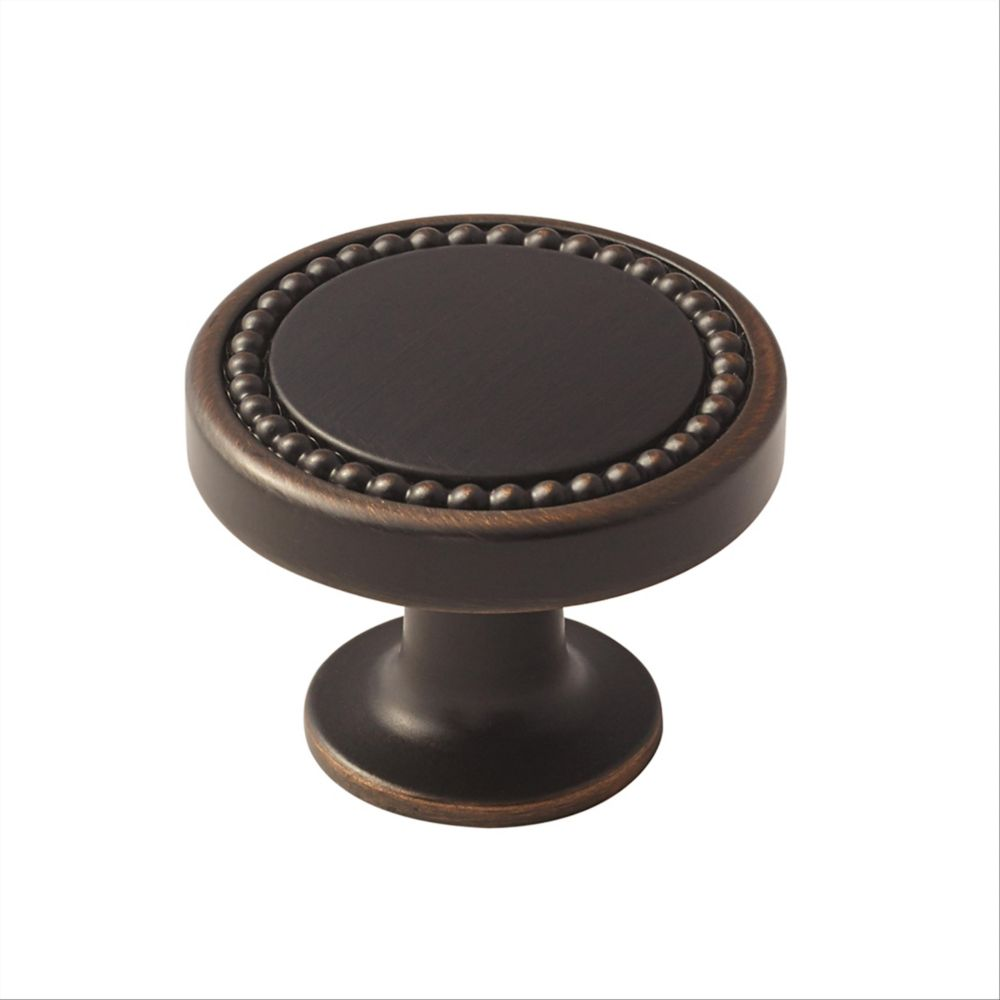 Amerock Carolyne 1-3/8-inch (35 mm) Oil-Rubbed Bronze Cabinet Knob