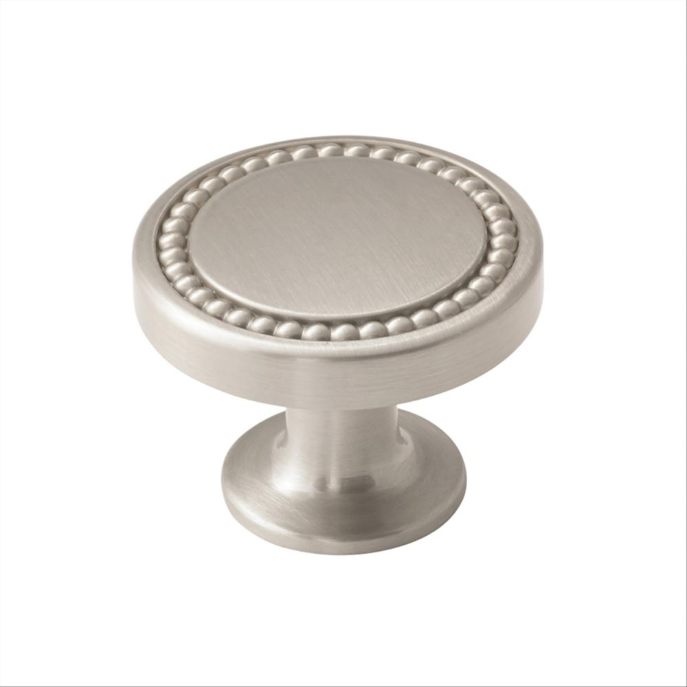 Amerock Carolyne 1-3/8 Inch (35mm) DIA Knob - Polished Nickel