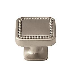 Amerock Bouton 1-1/4 po (32mm) LGTH Carolyne - Nickel satiné