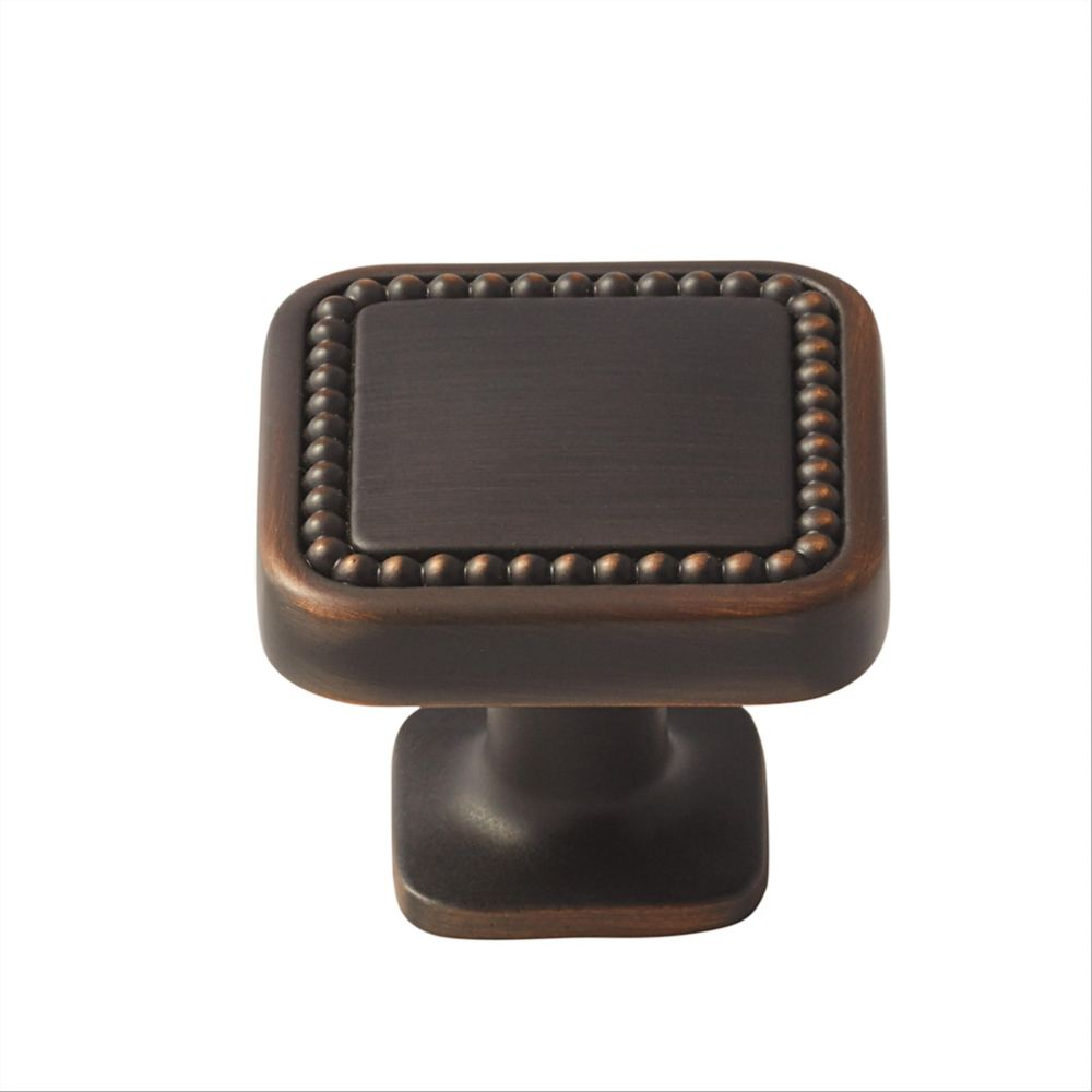 Amerock Carolyne 1-1/4 Inch (32mm) LGTH Knob - Oil-Rubbed Bronze