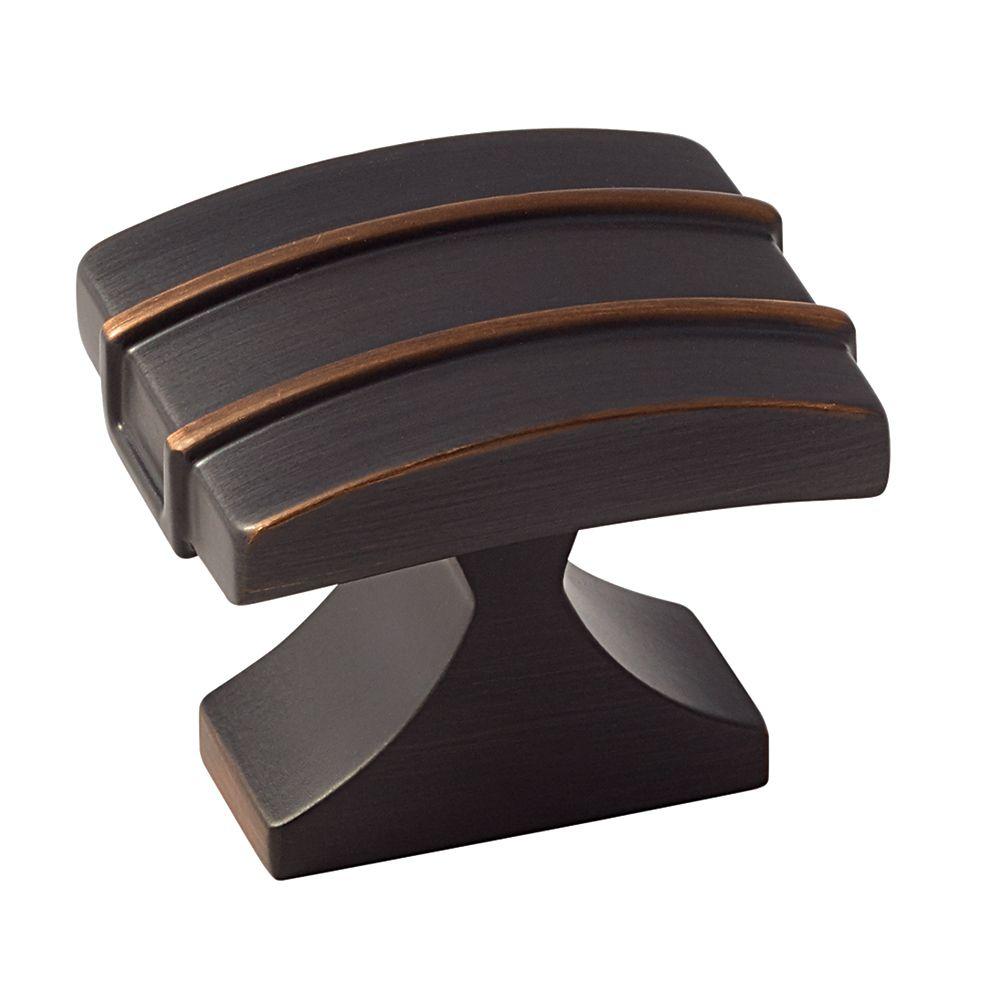 Amerock Davenport 1-1/2 Inch (38mm) LGTH Knob - Oil-Rubbed Bronze