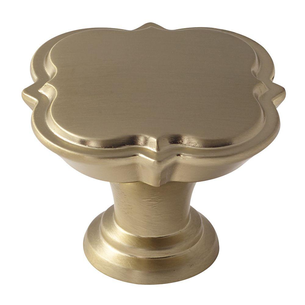 Grace Revitalize 1-3/4 Inch (44mm) DIA Knob - Golden Champagne