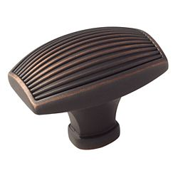 Amerock Sea Grass 1-3/4 Inch (44mm) LGTH Knob - Oil-Rubbed Bronze