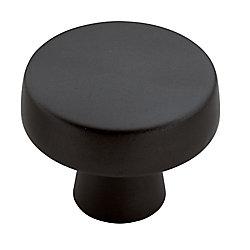 Amerock Bouton 1-3/4 po (44mm) DIA Blackrock - Bronze noir