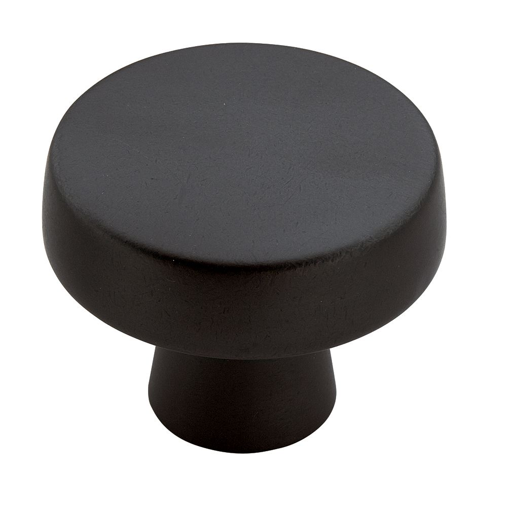Amerock Blackrock 1-3/4 Inch (44mm) DIA Knob - Black Bronze