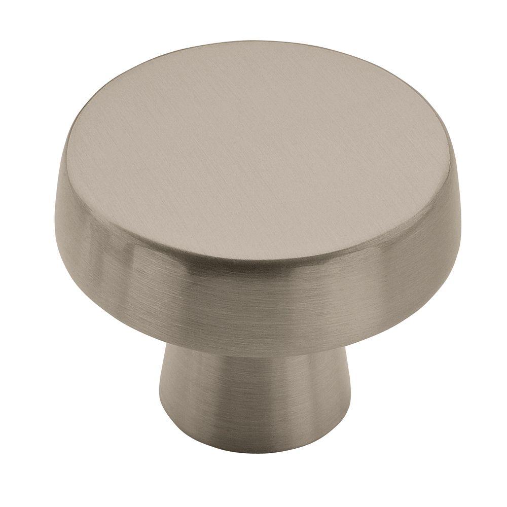 Blackrock 1-3/4 Inch (44mm) DIA Knob - Satin Nickel