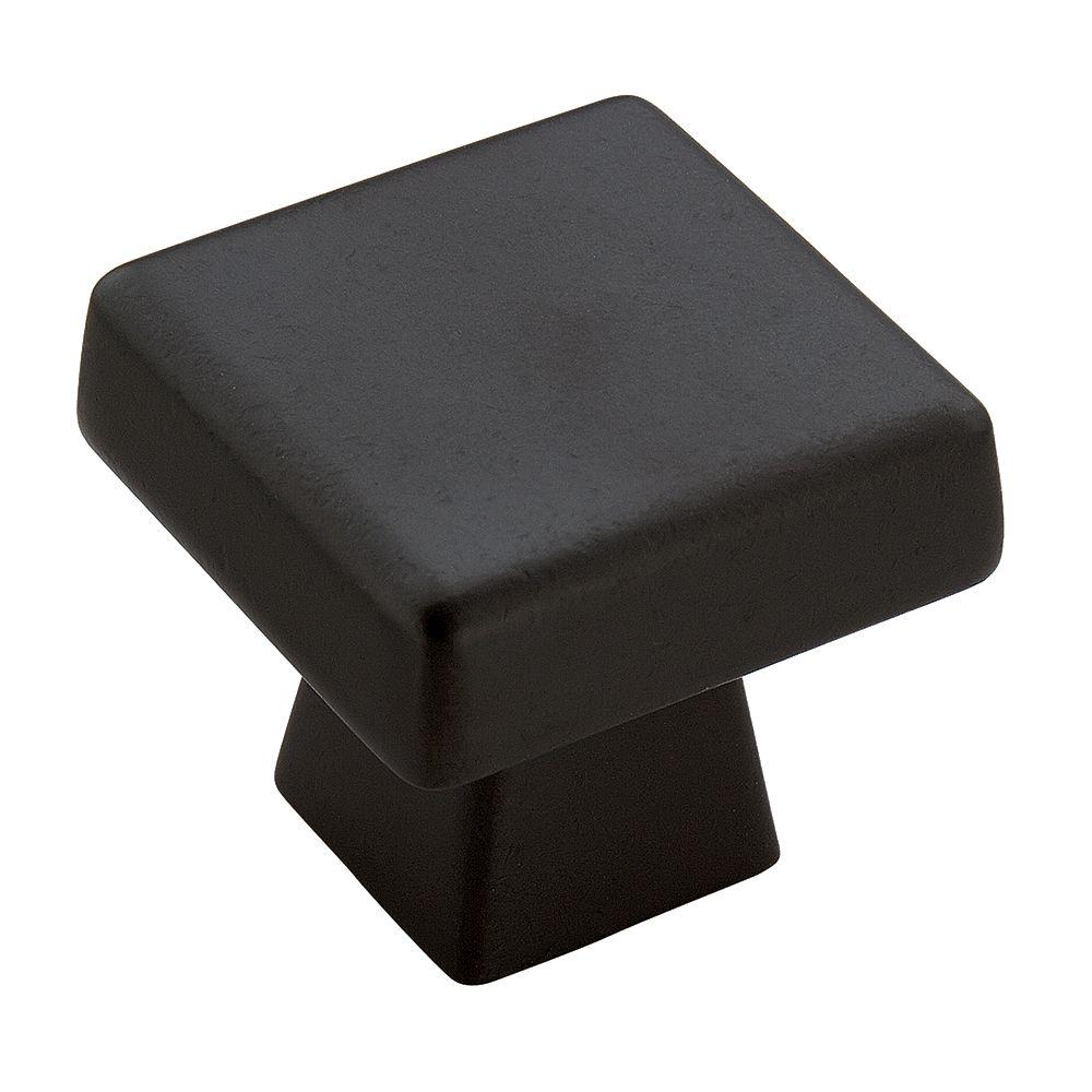 Amerock Blackrock 1-1/2 Inch (38mm) LGTH Knob - Black Bronze