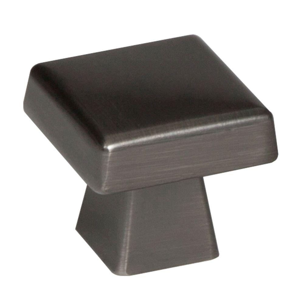 Amerock Blackrock 1-1/2 Inch (38mm) LGTH Knob - Gunmetal