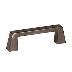 Amerock Poignée centres à 3 po (76mm)  Blackrock - Bronze industriel