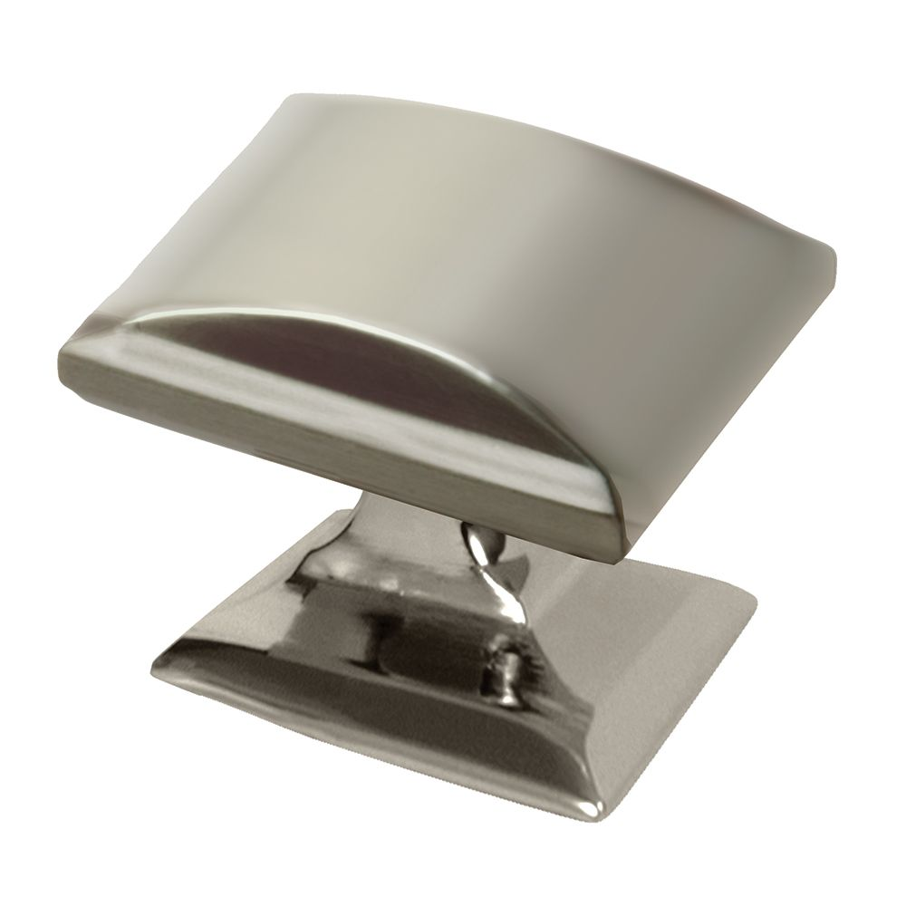 Amerock Candler 1-1/4 Inch (32mm) LGTH Knob - Polished Nickel