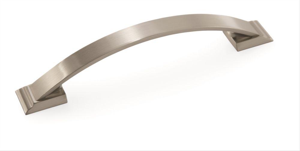Amerock Candler 5-1/16 Inch (128mm) CTC Pull - Satin Nickel