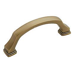 Amerock Poignée centres à 3 po (76mm)  Revitalize - Bronze doré