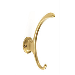 Amerock Contempory Coat and Hat Hook - Brushed Bronze