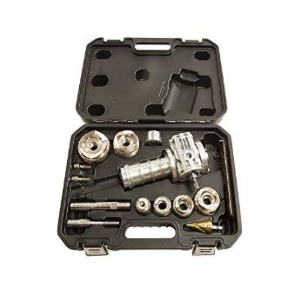Max PunchPro Knockout w/ Stainless Steel Rated Dies - 1/2 Inch - 2 Inch Set