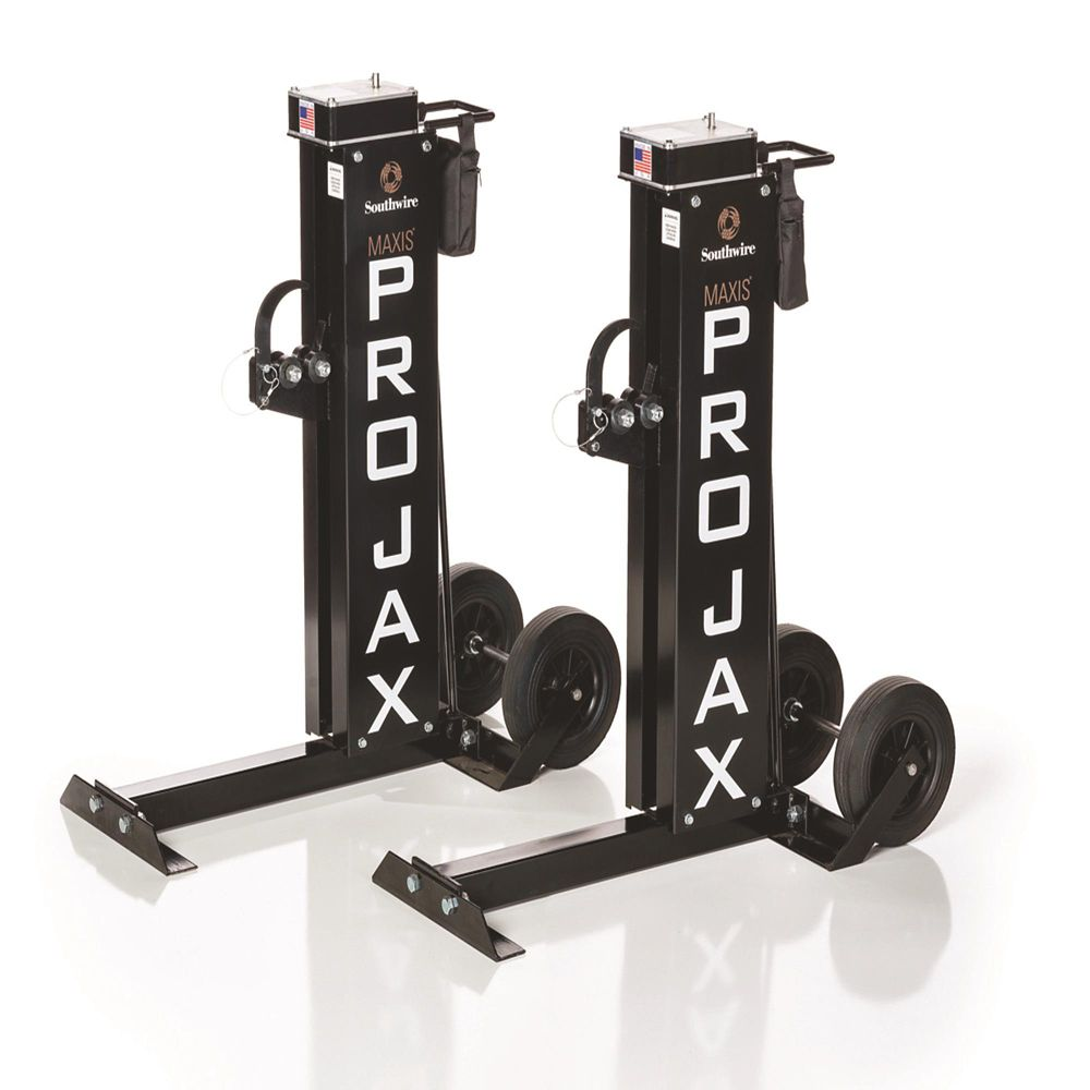 PRO-JAX  - 6,000 LBS. Capacity Portable 72 Inch Reel Stand (Pair)