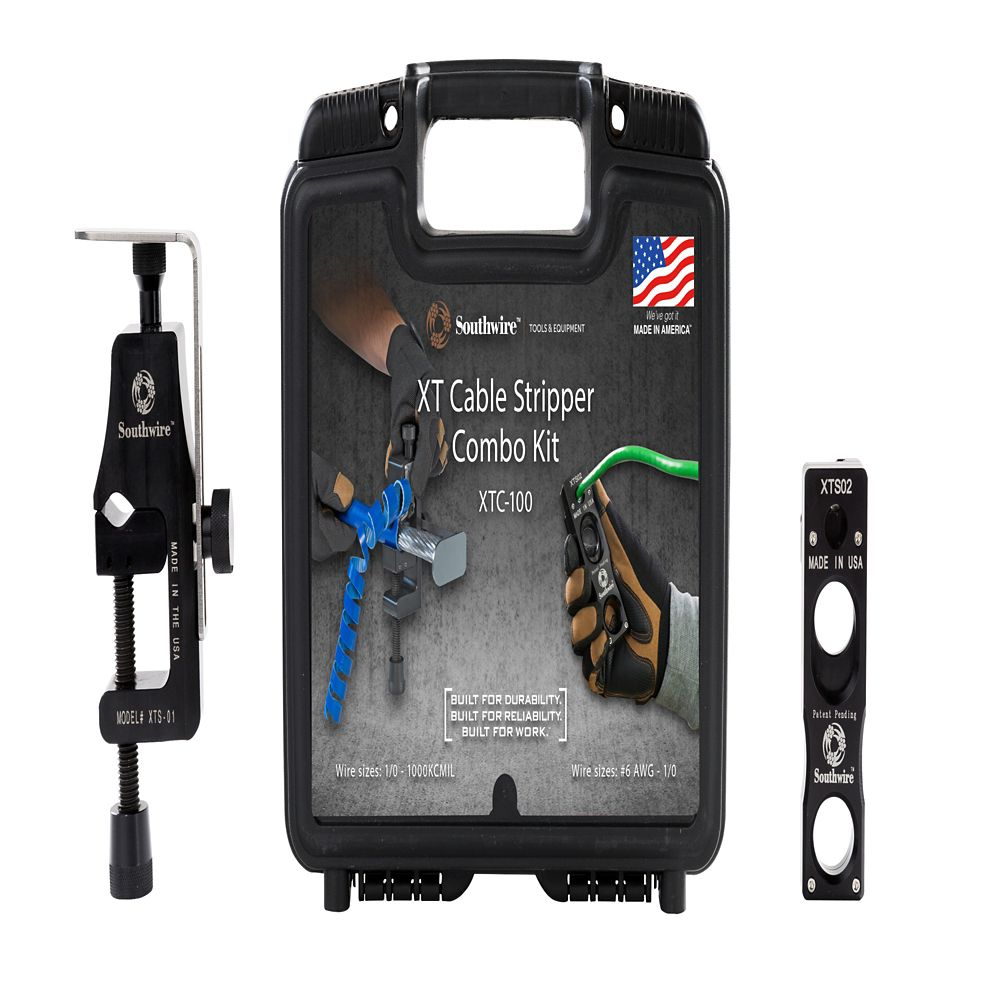 XT Cable Stripper Combo Kit 6-1000 KCMIL In Case
