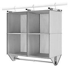 4 Section Closet Organizer