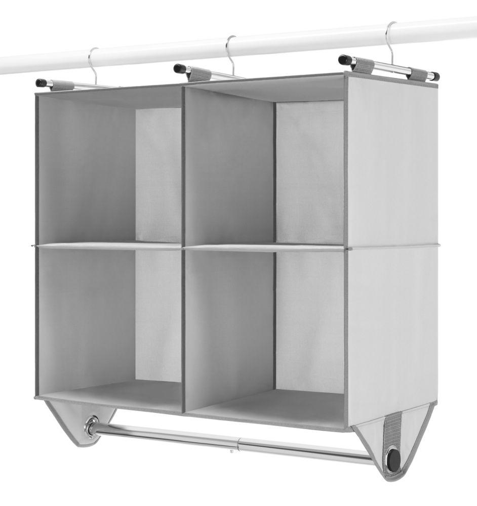 Closetmaid Selectives Narrow 4 Ft To 9 Ft Custom Closet
