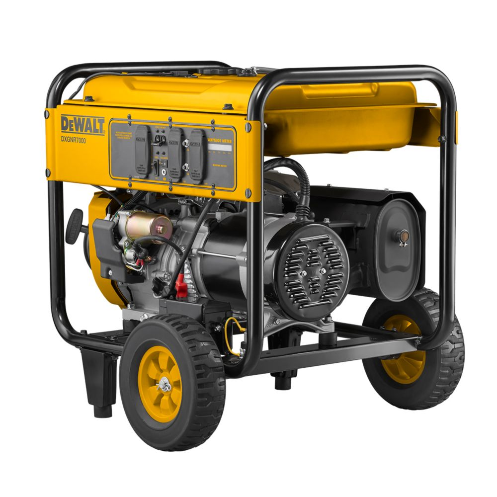 7000 Watt Gas Powered Portable Generator with Electric Start