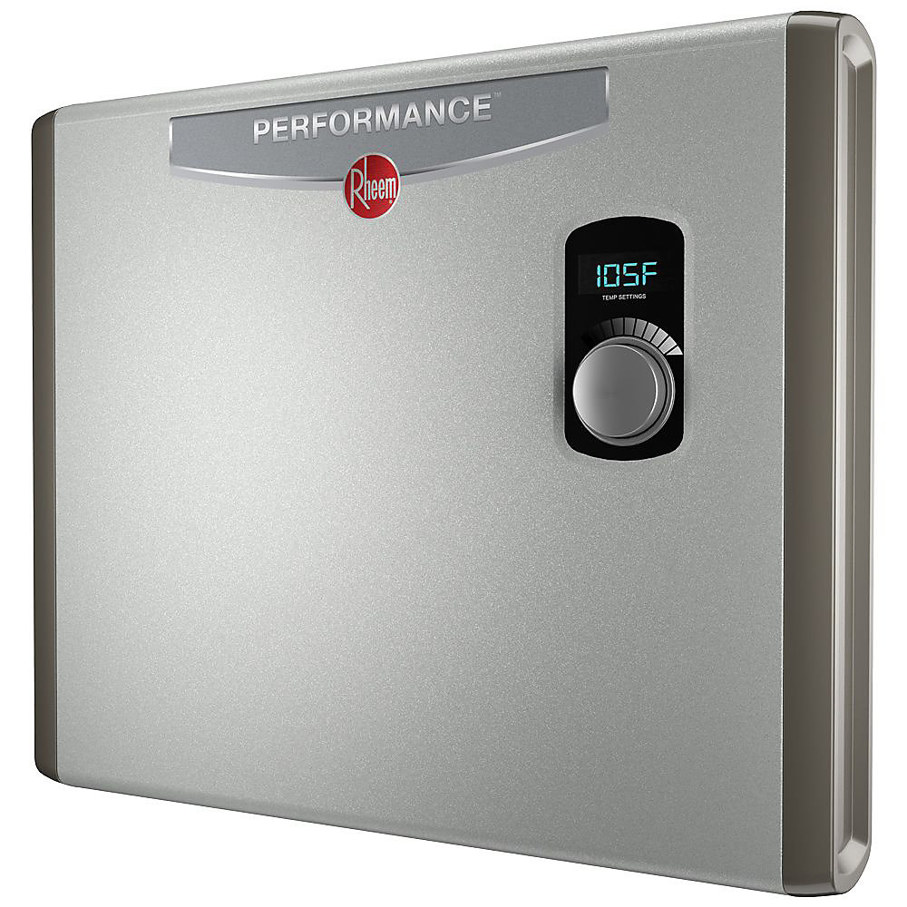 Rheem 36kw Electric Tankless Water Heater The Home Depot