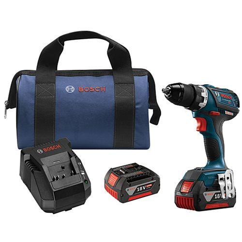 Bosch 18V EC Brushless Compact Tough 1/2 Inch Drill/Driver Kit