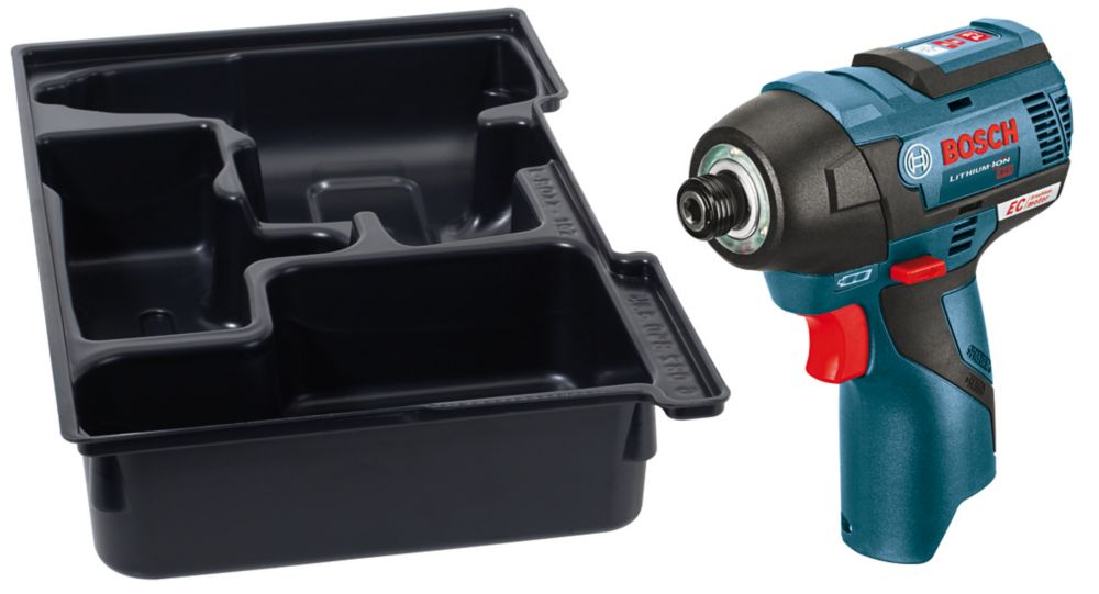 12V MAX EC Brushless Impact Driver with Exact-Fit Insert Tray