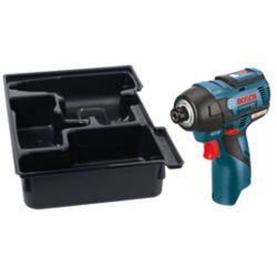 Bosch 12V MAX EC Brushless Impact Driver with Exact-Fit Insert Tray