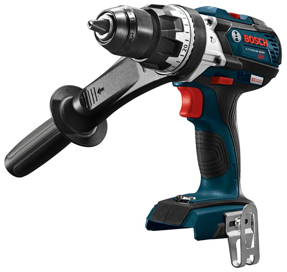 Bosch 18V EC Brushless Brute Tough 1/2-inch Hammer Drill/Driver (Bare Tool)