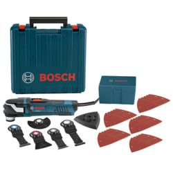 Bosch 4 Amp Corded StarlockPlus Oscillating Multi-Tool Kit with Case (32-Piece)
