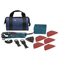 4 Amp Corded StarlockPlus Oscillating Multi-Tool Kit (32-Piece)