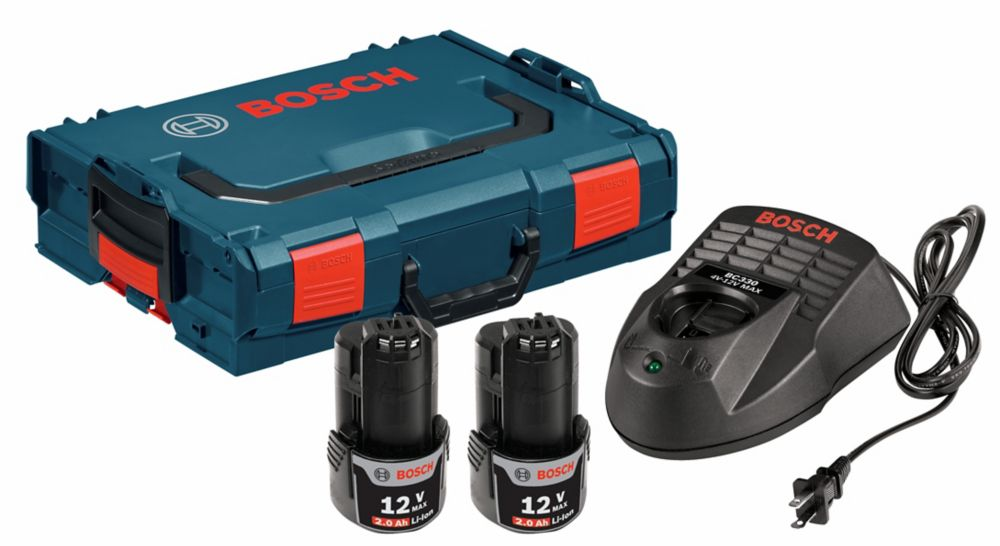 Bosch 18 V SlimPack Li-Ion Starter Kit with L-Boxx 2