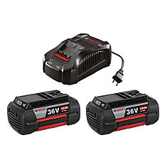 36 V Lithium-Ion Battery & Charger Starter Kit